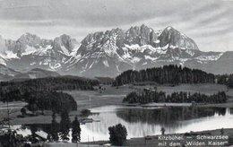 KITZBUHEL-SCHWARZSEE MIT DEM WILDEN KAISER-1931 - Kitzbühel