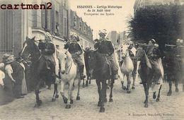 ESSONNES CORTEGE HISTORIQUE TROMPETTES DES SPAHIS 91 - Essonnes
