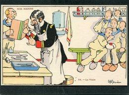 CPA - Illustration Gervèse - NOS MARINS - La Visite - Guerre