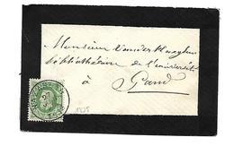 N° 30  NAZARETH     27 JUIN 1878  Formaat Carte Visite - 1869-1883 Léopold II