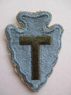 Patch US 36th Infantery Division Army  WW2 Original - Blazoenen (textiel)