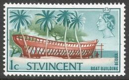 St Vincent. 1965-67 Definitives. 1c MH. SG 231 - St.Vincent (...-1979)