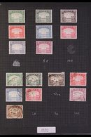 BRITISH COMMONWEALTH IN THREE VOLUMES  Mostly KGVI & Early Period QEII Issues With Stronger Ranges Of Aden With 1937 Dho - Stamps