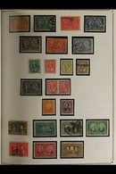 ALL WORLD COLLECTION IN TWO GIANT VOLUMES.  An Extensive, Chiefly ALL DIFFERENT, Mint & Used (mostly Used), All Period E - Stamps
