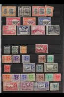 MINT BRITISH COMMONWEALTH  ACCUMULATION Housed In Five Stock Books, Strength In KGVI With Most Country Ranges Beginning  - Stamps