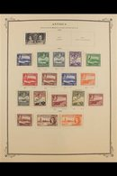 BRITISH WEST INDIES  1860's-1950's Mint & Used Collection On Pages, Plus Some In Packets & On Cards, Includes (all Mint) - Stamps
