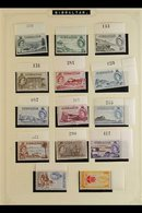 BRITISH COMMONWEALTH  An Attractive Very Fine Mint Collection Of Earlier QEII Issues, All Different And Mostly In Comple - Stamps