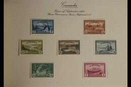 1945-46 VICTORY  British Commonwealth Complete Omnibus Set, PLUS Canada Peace Re-conversion Issues (SG 401/07 & S15/16), - Stamps