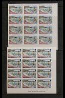 TOURISM  MONTSERRAT 1986 Tourism Complete Set (SG 710/23) - Each Value With Seven Different PROGRESSIVE COLOUR IMPERF PR - Stamps
