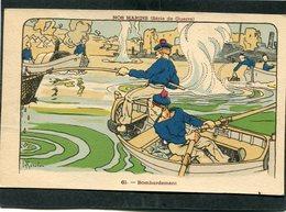 CPA - Illustration Gervèse - NOS MARINS (Série De Guerre) - Bombardement - Guerre