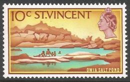 St Vincent. 1965-67 Definitives. 10c MH. SG 238 - St.Vincent (...-1979)