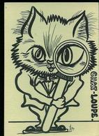 CP LARDIE - Chat Humoristique - CHAT....Loupe (étudiant Studieux) N° 31/100 Exemplaires Numérotés 4eme Salon CP ALBI 22 - Lardie