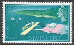 St Vincent. 1965-67 Definitives. 12c MH. SG 239 - St.Vincent (...-1979)