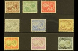 1920  Tercentenary Set, SG 59/67, Very Fine Mint (9 Stamps) For More Images, Please Visit Http://www.sandafayre.com/item - Bermuda