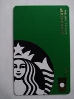 China Gift Cards, Starbucks,  2017 (1pcs) - Gift Cards