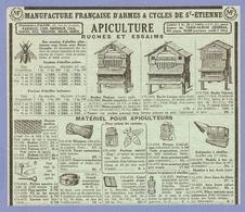 PUBLICITE 1953 - MATÉRIEL Pour APICULTURE RUCHES & ESSAIMS - ABEILLE MIEL ENFUMOIR - RUCHE DADANT LAYENS VOIRNOT - Ohne Zuordnung