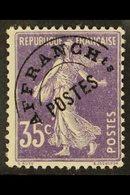 PRECANCELS (PREOBLITERES)  1922-47 35c Violet (Sower/full Background), Yvert 62, Never Hinged Mint For More Images, Plea - France
