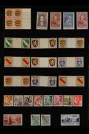 1945-1949 MINT COLLECTION  On Stock Pages, Some Stamps Are Never Hinged. Includes GENERAL ISSUES 1946 Exhibition Both M/ - Germany