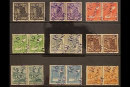 """RUSSIAN ZONE  GENERAL ISSUES 1948 Workers Complete Set Incl Both 60pf Values All With """"16 / Heiligenstadt"""" Local Distric - Germany"""
