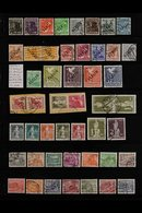"""1949-1956 ATTRACTIVE COMPREHENSIVE USED COLLECTION  On Stock Pages, Includes 1949 """"BERLIN"""" Opts In Black Set To 80pf (mo - [5] Berlin"""