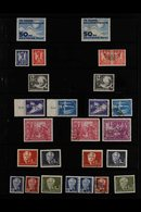 1949-1958 ATTRACTIVE COLLECTION  On Stock Pages, Usually Both Fine Mint (mostly Never Hinged) And Fine Used Examples, In - [6] Democratic Republic