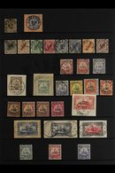 CAMEROON  1890-1919 USED COLLECTION That Includes 1890 3pf (Mi V45) Bearing 1894 Kamerun Cds & 20pf Tied To A Neatly Cli - Germany