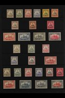 """KIAUTSCHOU  1901-1919 FINE MINT COLLECTION Presented On A Stock Page That Includes 1901 """"Kaiser Yacht"""" German Currency C - Germany"""