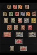 """MARSHALL ISLANDS  1899-1919 MINT COLLECTION That Includes 1899 """"Marschall Inseln"""" 3pf, 10pf, 25f & 50pf, 1899 """"Marshall  - Germany"""