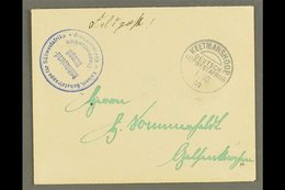"""SOUTH WEST AFRICA  1907 (1 Oct) Stampless Feldpost Cover To Germany With Fine """"KEETMANSHOOP"""" Cds Postmark Plus Very Fine - Germany"""