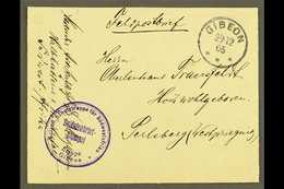 """SOUTH WEST AFRICA  1905 (29 Dec) Stampless """"Feldpostbrief"""" Cover To Germany Showing Very Fine """"GIBEON"""" Cds Postmark, Plu - Germany"""