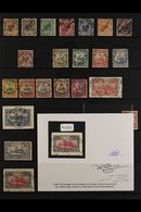 """TOGO  1889-1919 USED COLLECTION That Includes An 1889 Crown Eagle 50pf Bearing A """"Klein - Popo"""" Cds, 1897 """"Togo"""" Overpri - Germany"""