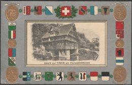 Haus Zur Treib Am Vierwaldstättersee, Uri, 1921 - Guggenheim AK - UR Uri