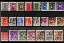 """1950  Netherland Indies """"R I S"""" Overprinted Complete Set, SG 579/601, Scott 335/58, Never Hinged Mint (23 Stamps) For Mo - Indonesia"""