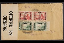 BRITISH OCCUPATION  1918-1919 Two Censored Covers Addressed To England Incl One Is Registered, Bearing ½a On 10pa, 1a On - Iraq