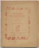Hendrik Conscience. Studie Van Jozef Staes, 1908. 1ste Druk. - Livres, BD, Revues