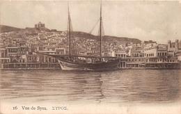 ¤¤   -   GRECE   -   Vue De SYRA   -  Voilier   -   ¤¤ - Greece