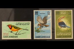 1964  AIR - BIRDS Set, SG 627/629, Never Hinged Mint (3 Stamps) For More Images, Please Visit Http://www.sandafayre.com/ - Jordan
