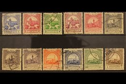 """OBLIGATORY TAX  1947 No Wmk """"Mosque"""" Set, SG T264/275, Fine Used (12 Stamps) For More Images, Please Visit Http://www.sa - Jordan"""