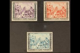 1954  Golden Jubilee Of King Sisavang Vong, Complete Set, SG 40/42, Very Fine , Barely Hinged Mint. (3 Stamps) For More  - Laos