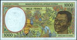 CENTRAL AFRICAN STATES - 1.000 Francs 2000 {Cameroon E} AU-UNC P.202 Eg - Camerún