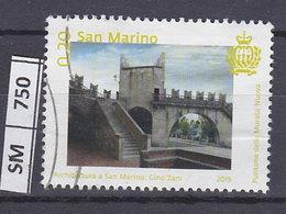 SAN MARINO  2015Architettura, Puntone Della Murata 0,20 Usato - San Marino