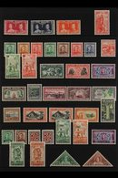 1937-53 COMPLETE KGVI MINT COLLECTION.  A Complete Postal Issues Collection From Coronation To The 1953 Surcharged Issue - New Zealand