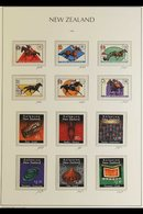 1975-99 NEVER HINGED MINT COLLECTION  COMPREHENSIVE RANGES On Hingeless Pages, All Different From 1975 Definitive Issues - New Zealand