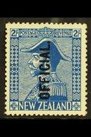 OFFICIALS  1927-33 2s Light Blue Admiral, SG O112, Fine Mint. For More Images, Please Visit Http://www.sandafayre.com/it - New Zealand