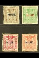 """1931  """"NIUE"""" Opt'd Postal Fiscal Set, SG 51/54, Very Fine Mint (4 Stamps) For More Images, Please Visit Http://www.sanda - Niue"""
