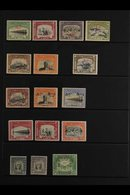 OFFICIALS  1945-49 Issues Complete, Includes 1945 (1 Mar) Set Of Six, 1945 (10 Mar) 1a Black And Brown, 1945 (Mar-Jun) S - Bahawalpur