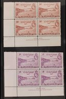 1938  Air 50th Anniversary Complete Set, SG 158/62, Fine Mint (all Stamps Are Never Hinged) Lower Left 'JOHN ASH' IMPRIN - Papua New Guinea