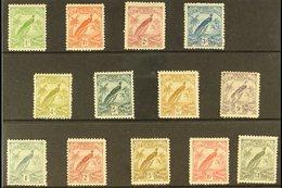 1931  Raggiana Bird Set, SG 150/62, Fine Mint (13 Stamps) For More Images, Please Visit Http://www.sandafayre.com/itemde - Papua New Guinea