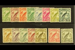 1932  10th Anniv Set (without Dates),  SG 177/89, Very Fine And Fresh Mint. (15 Stamps) For More Images, Please Visit Ht - Papua New Guinea