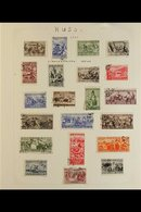 1923-1950  FRESH AND ATTRACTIVE COLLECTION  Written Up On Album Pages Including Complete Sets And Better Values With 192 - Russia & USSR